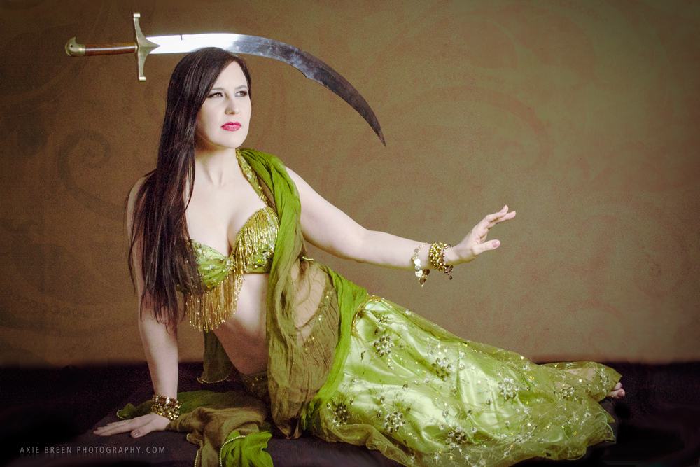 belly dancer - Axie Breen photography